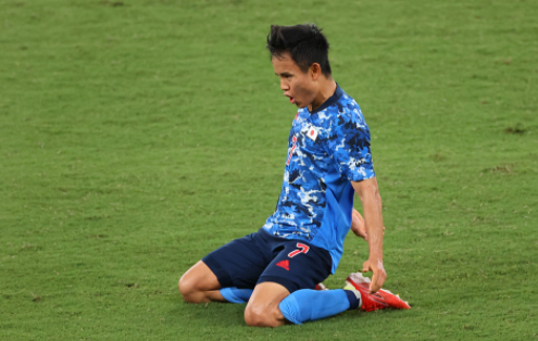 奥运男足-日本国奥1-0南非取开门红 久保健英一击致命
