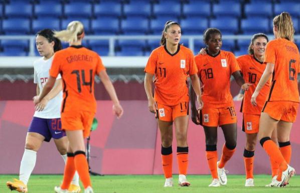 奥运女足-中国2-8荷兰平队史单场丢球纪录 3战积1分出局